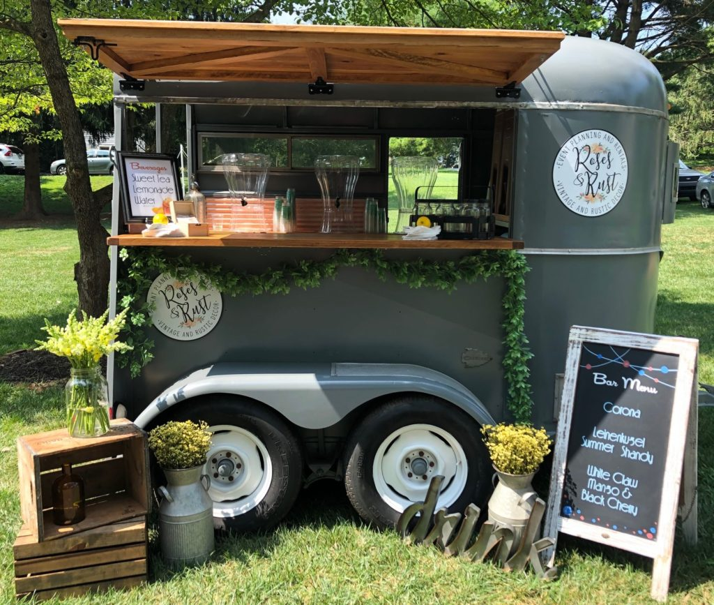 Bar Trailer Rose And Rust Events